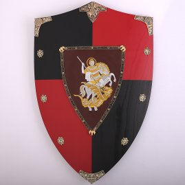 Wooden shield Edward the Black Prince