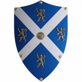 Wooden shield William Wallace