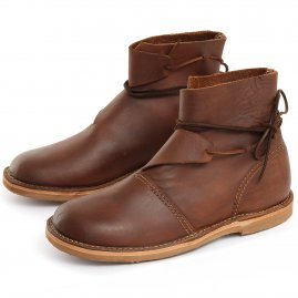 Viking ankle leather boots Berserk