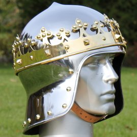 Helmet King Richard I of England de Luxe