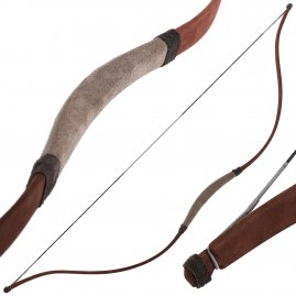 Nomad Horsemen bow leather covered 48 inches, 25-54 lbs.