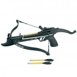 Recurve Crossbow 80lbs XB COBRA black ALU