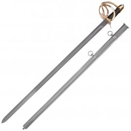 U.S. Heavy Cavalry Sword with Steel Scabbard