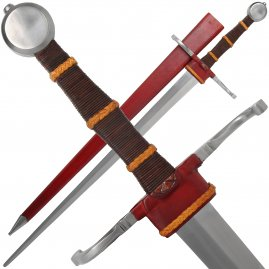 Bastard sword with scabbard, class B