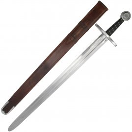High Middle Ages battle-ready sword Kasimir, Class D