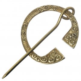 Celtic Ring brooch, 65 mm