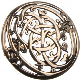Viking brooch of Urnes Style, 36 mm
