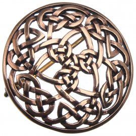 Celtic Fibula Never-ending Knot, 39 mm