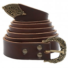 Viking Belt with chape in Borre style