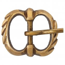 Brass buckle No. 9, Late Middle Ages