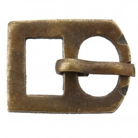 Brass buckle No. 11, Late Middle Ages