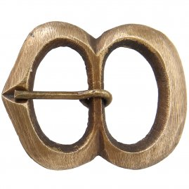 Brass buckle No. 14, Late Middle Ages