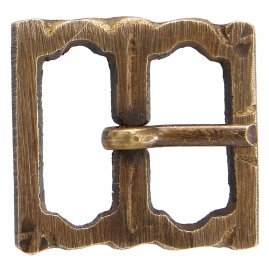 Brass buckle No. 24, Late Middle Ages