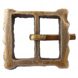 Brass buckle No. 26, Late Middle Ages