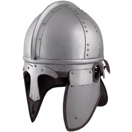 Infantry Late Roman ridge helmet Burgh Castle