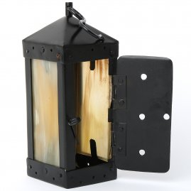 Square candle lantern