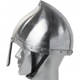 Italo-Norman Nasal Helmet, 2mm steel