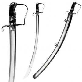 1796 Light Cavalry Saber with steel scabbard