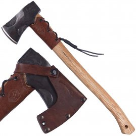 Wood Chopping Axe Cloudburst by Condor