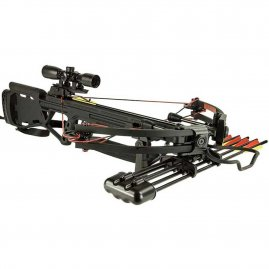 Compound crossbow Man Kung Hawk® 350 Black 150 lbs
