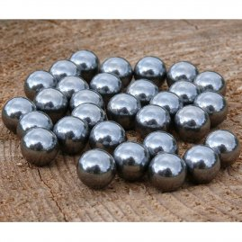 Metal balls to a slingshot, 30pcs
