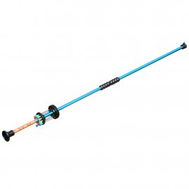 Blowgun with steel darts