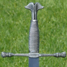 "Reasonably priced iron sword ""Charles V"" from the time 10th – 15th century"