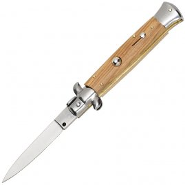 Stiletto Flick knife Olive