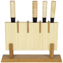 Knife holder made of bamboo