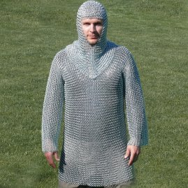 Hauberk with coif