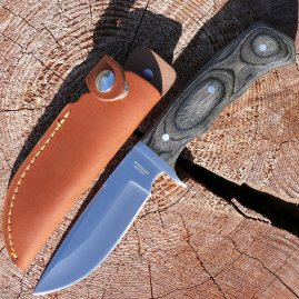 Solid multipurpose and travel knife