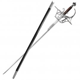 Rapier William with scabbard