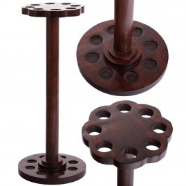 Solid wooden 8 Walking Cane Holder