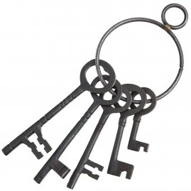Medieval Dungeon Keys Set