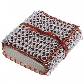 Medieval Chainmail Covered Journal