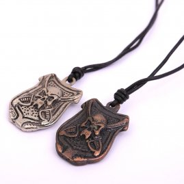 Pirate Emblem Pendant Necklace