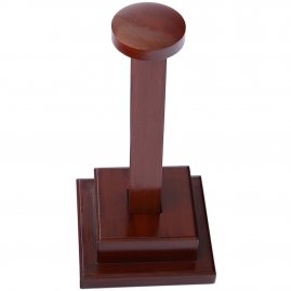 Robust Wooden Helmet Stand