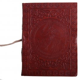 Leather-Bound Medieval Knight's Journal