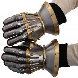 Hourglass Castello Gauntlets Polished