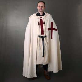 Crusader's Cape of heavy cotton