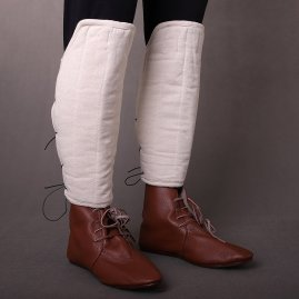 Cotton Padded Greaves