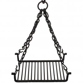 Hanging Grill for Cooking Fire