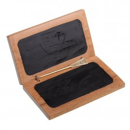 Wax Tablet with Brass Stylus