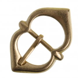 Armour Brass Flared Buckle, 1350 - 1700