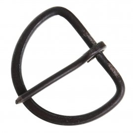 Forged Iron D Shape Buckle