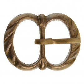 Two ring Oval Buckle, 1350 - 1650