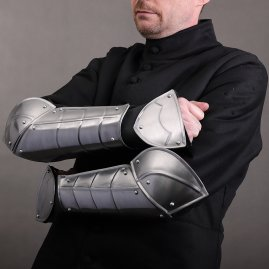Bracers with Hand and Elbow guards