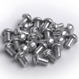 Steel Rivet 4x6 Set of 25