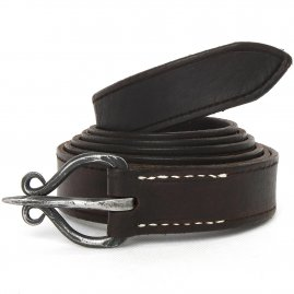Gothic belt with a wrought buckle