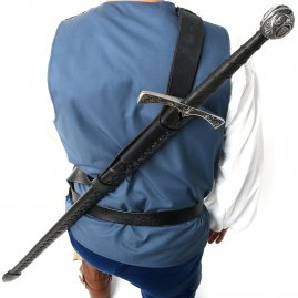 Baldric with back scabbard William Wallace